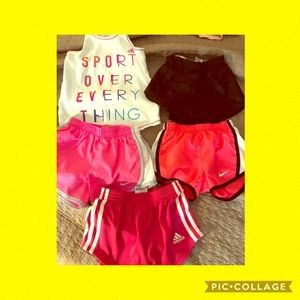 Girls activewear lot - size 5/6T